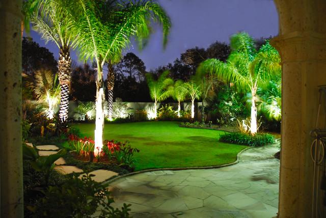 Outdoor Lighting 2 Mediterranean Landscape New