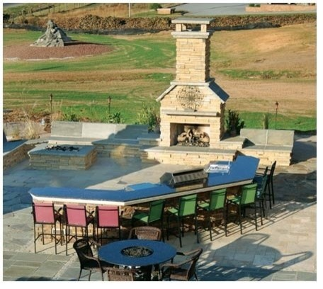 Outdoor Living traditional-landscape