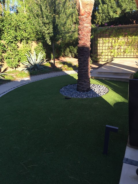 This is an example of a landscaping in Phoenix.