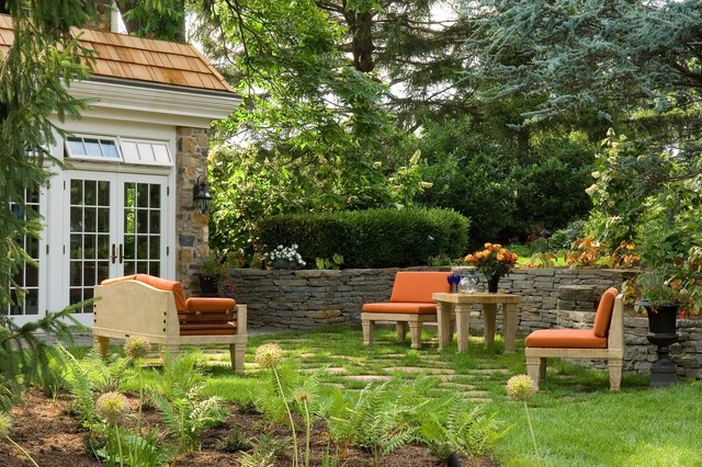 Outdoor Living Spaces traditional-landscape