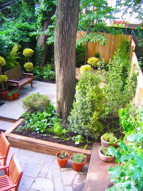 Outdoor Livingroom contemporary-landscape