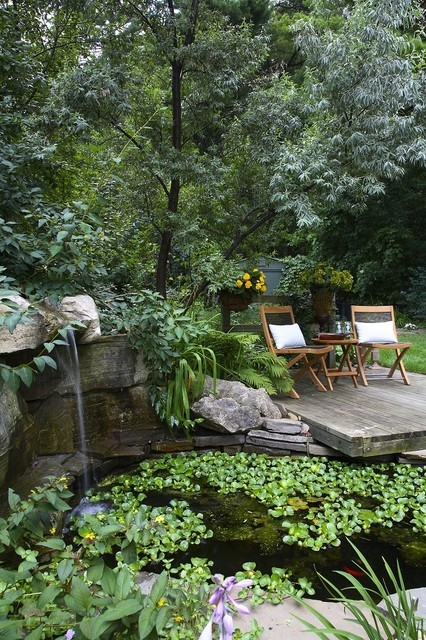 Outdoor Oasis traditional-landscape