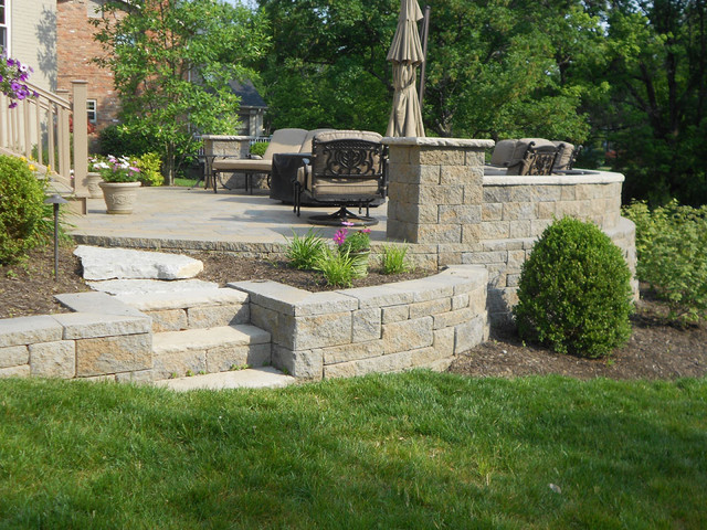 Awesome Outdoor Raised Patios And Landings Landscape