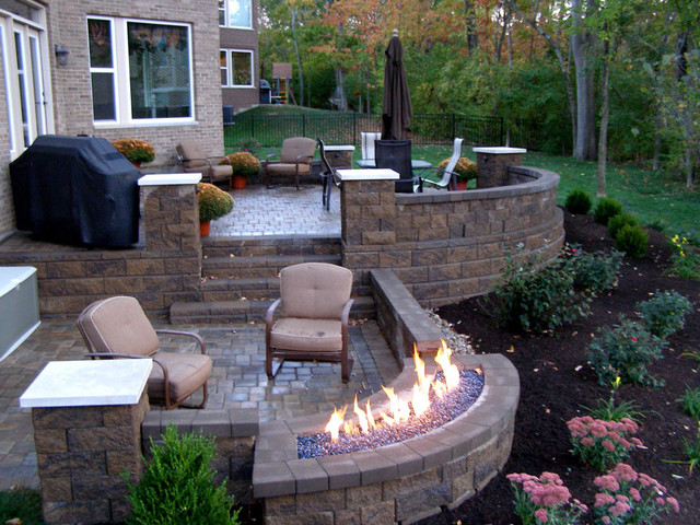 Outdoor Raised Patios and Landings - Landscape - Other ... on Raised Concrete Patio Ideas id=73185
