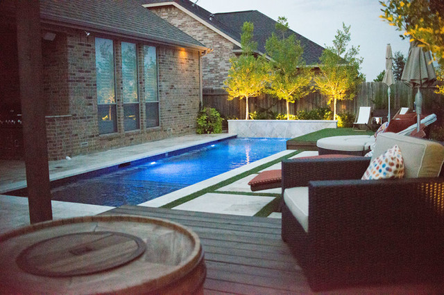 Design great landscaping katy texas for Pool design katy tx