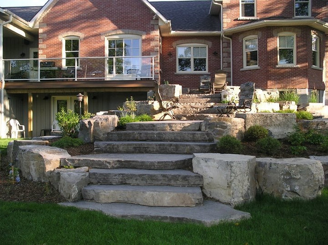 Outdoor Spaces traditional-landscape