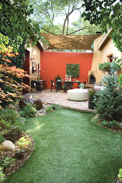 Outdoor Spaces mediterranean-landscape