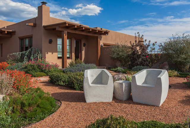 Outdoor Spaces southwestern-exterior