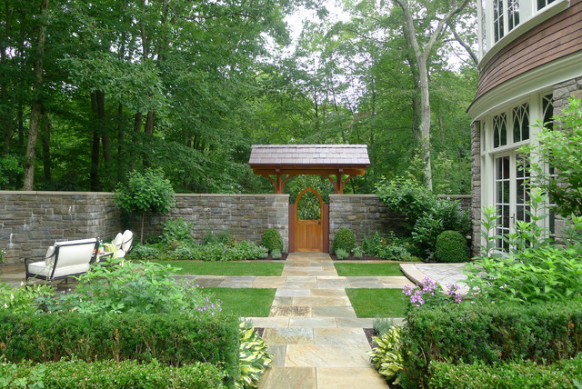 Outdoor Structures - Traditional - Landscape - new york - by Elise Landscapes & Nursery, LLC