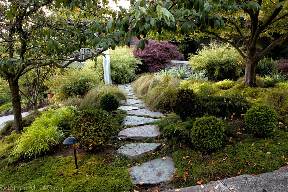 Pacific Northwest Hillside Garden