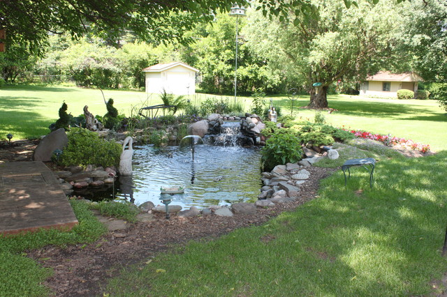 Palatine Il Backyard Sanctuary Traditional Landscape