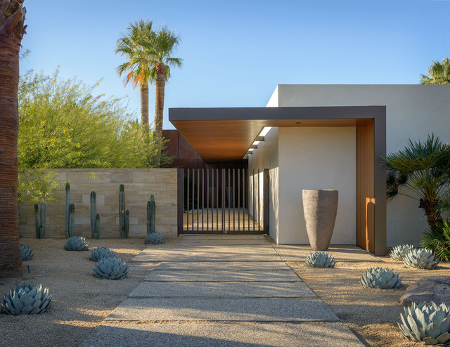 Palm Springs Retreat Contemporary Landscape By Carr 233