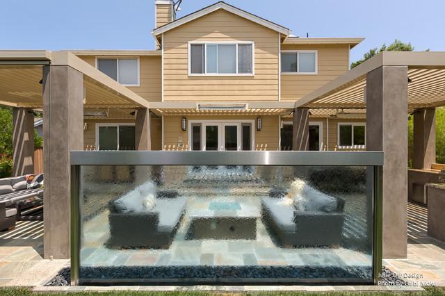 Palo alto ca julie orr design family friendly outdoor - Houzz palo alto ca ...