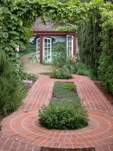 Palo alto driveway garden traditional landscape san - Houzz palo alto ca ...