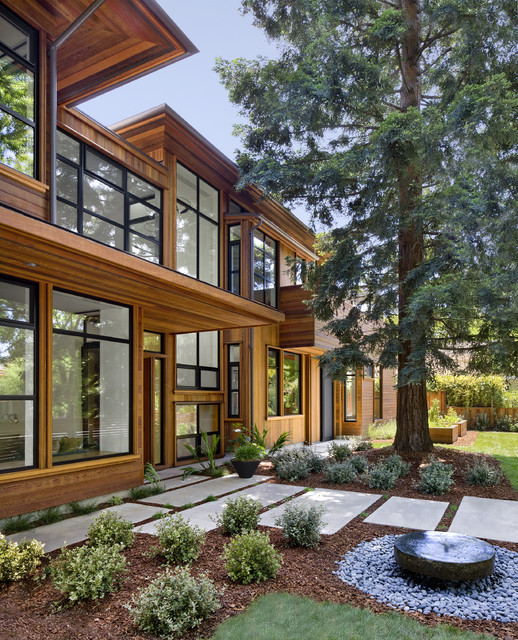 Palo Alto Green Point Rated House contemporary-landscape
