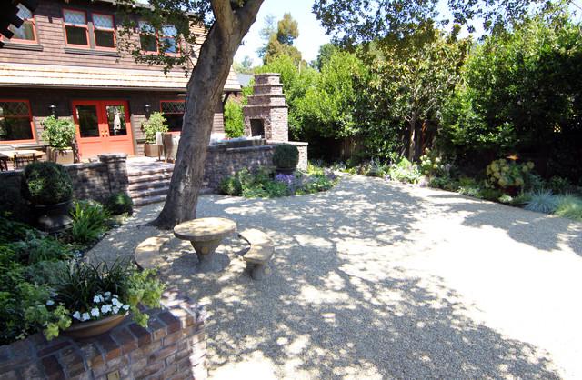 Palo Alto Historic Home craftsman-landscape