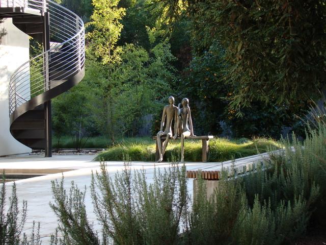 Palo Alto contemporary-landscape