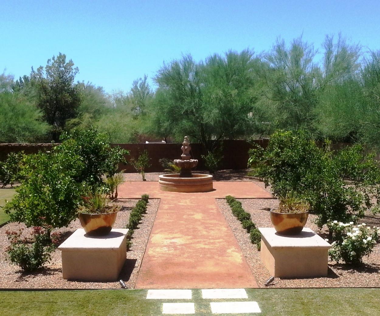 Paradise Valley III--Fountain