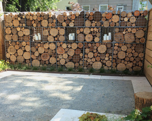 How To Use Gabion Baskets Walls And Fences In The Garden