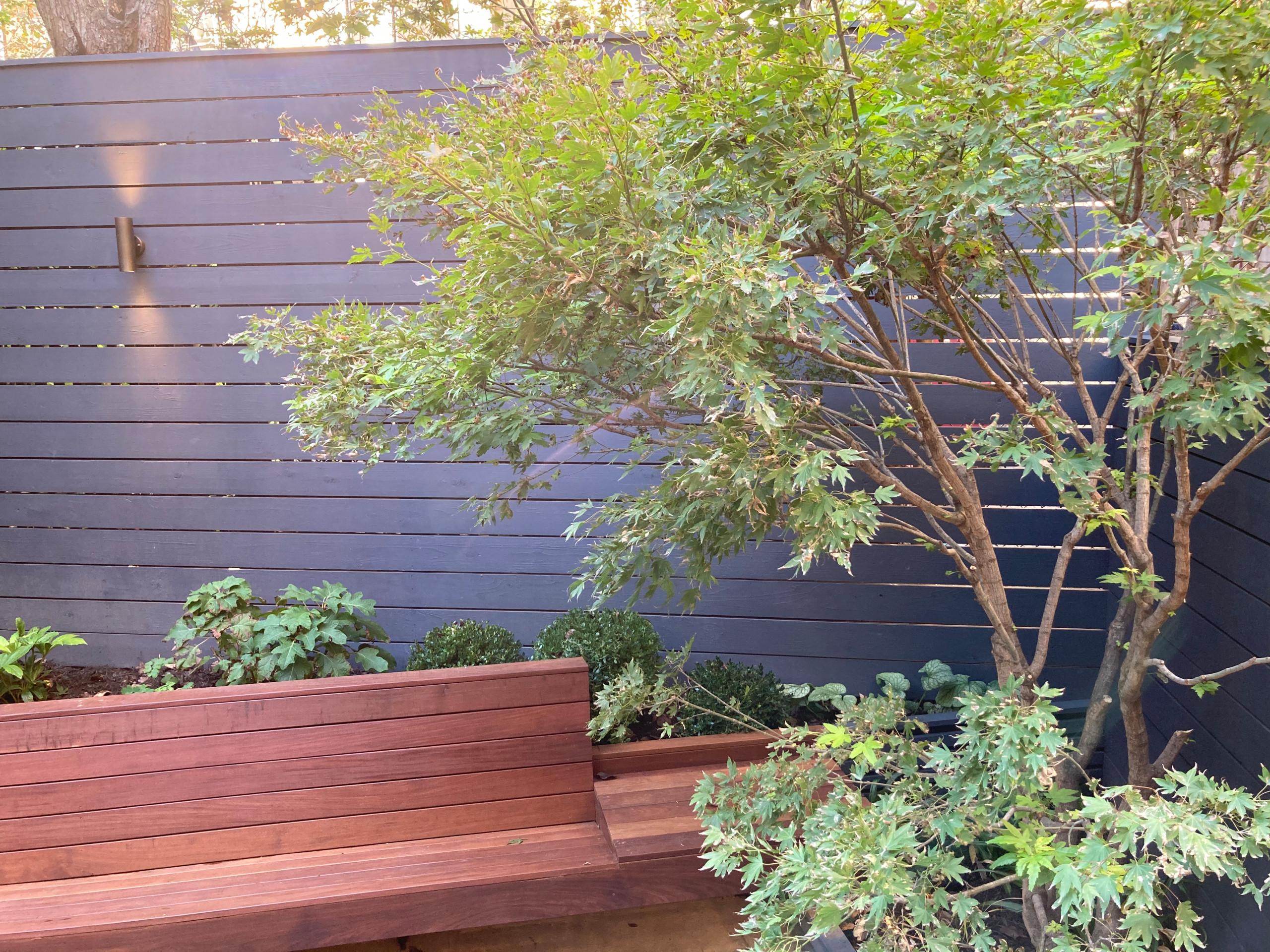 Park Slope backyard renovation
