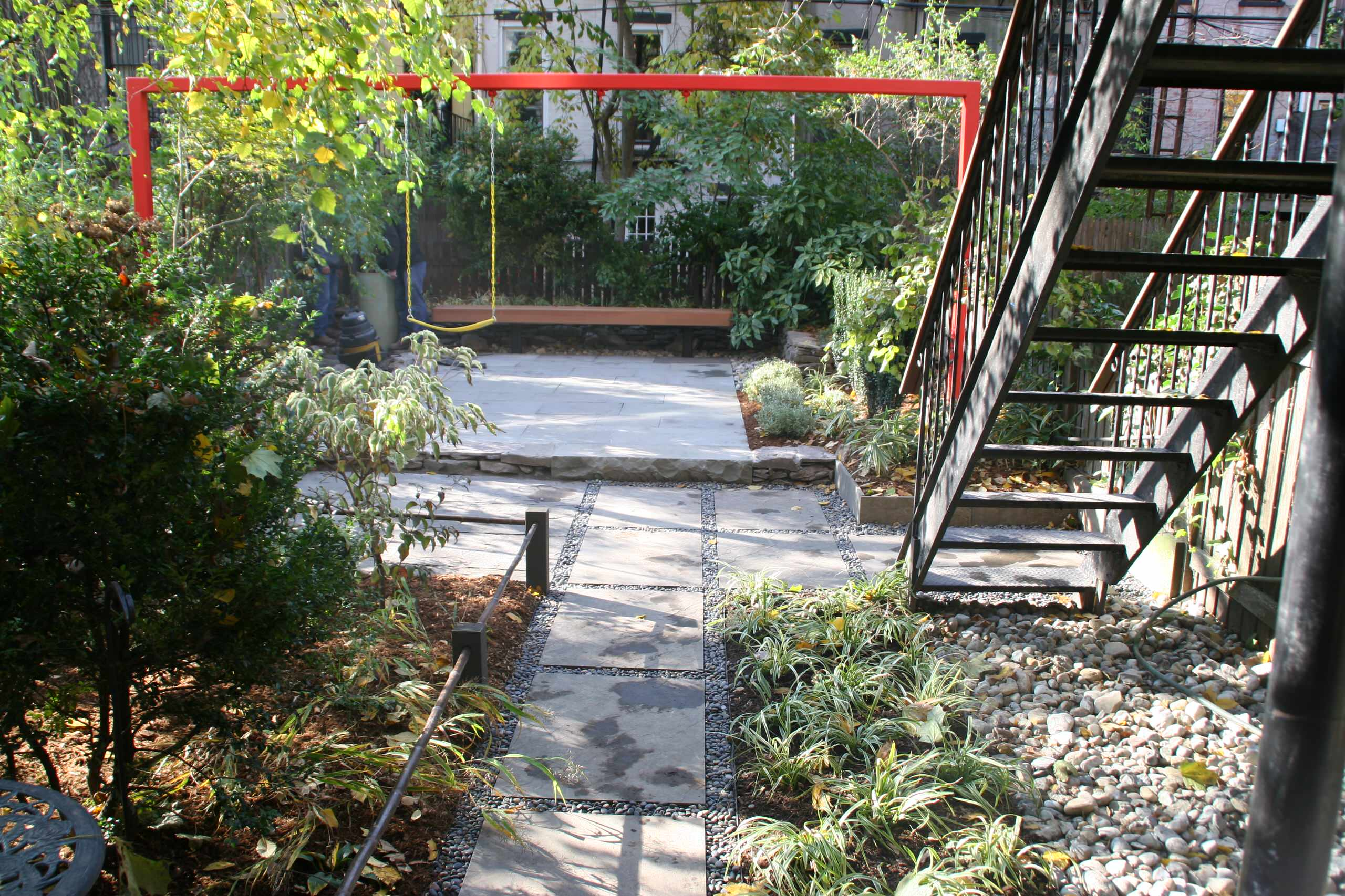 Park Slope child friendly garden