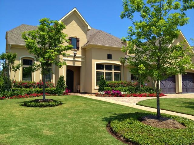 Parkgate - Frankel Building Group, The Woodlands, Texas traditional-landscape