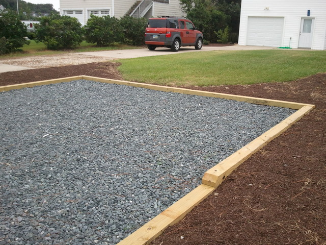 parking pads retainers posts