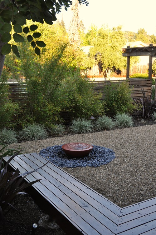 Noted make your own tranquil garden fountain via houzz for Build your own fountain outdoor