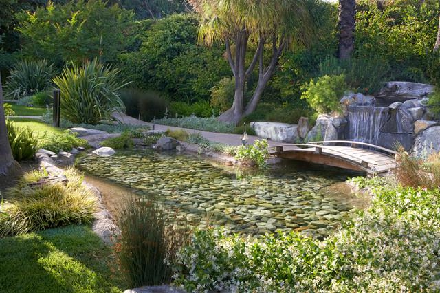 Pasadena Spanish Style Backyard Transitional Garden Los Angeles By Garden View Landscape