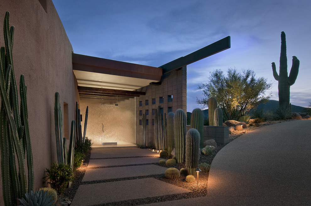 Photo of a contemporary landscaping in Phoenix.