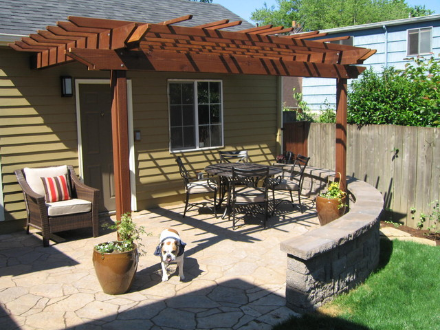 Patio & Pergola for Outdoor Living craftsman-landscape - Patio & Pergola For Outdoor Living - Craftsman - Landscape