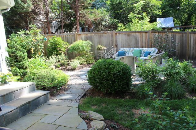Patio/backyard traditional-landscape