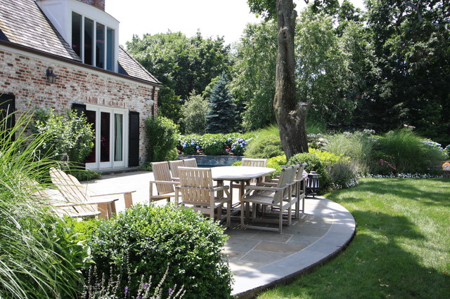 Patio Design for Marsh Grass Island