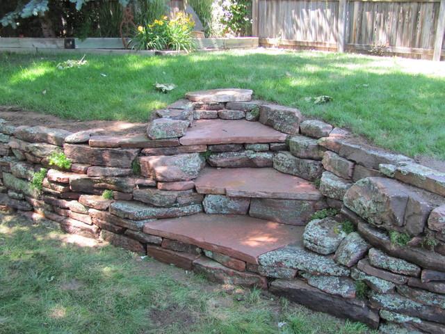 patio  pergola  front yard  back yard - traditional - landscape - denver