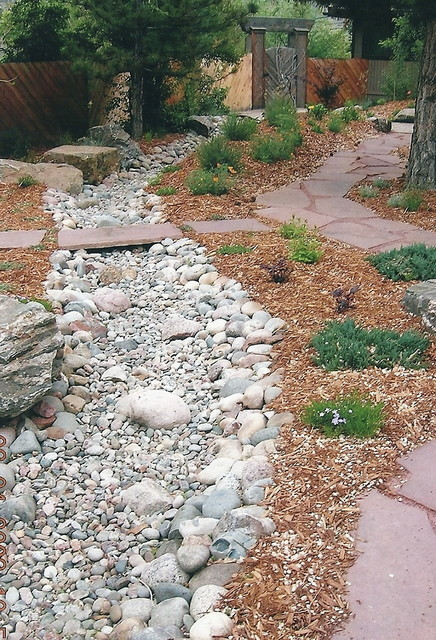Patios Rock Work Eclectic Landscape Denver By Bear