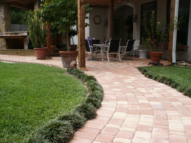 Patio Pavers Houston : Paver patios traditional landscape houston by bellaire pavers
