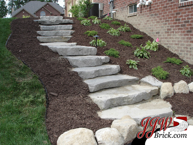 Paver walkway design ideas contemporary landscape for Paved garden ideas designs