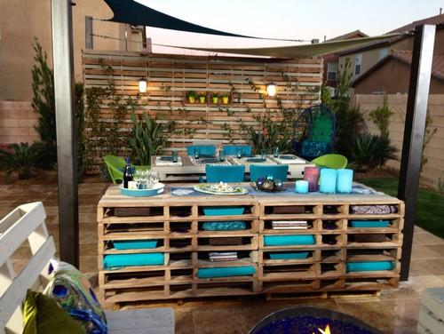 ideas de reciclaje para jardines Objetos Reciclados En Jardines