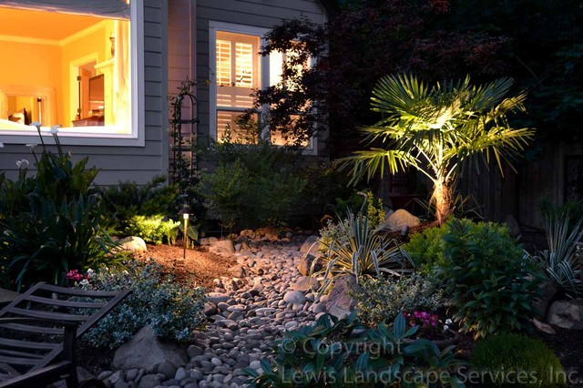Pelser Outdoor Lighting Project 2012 contemporary-landscape