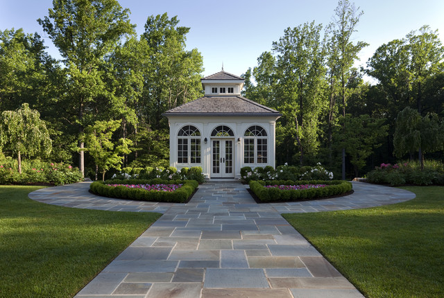 Estate Master Plan in Somerset County, NJ traditional-landscape