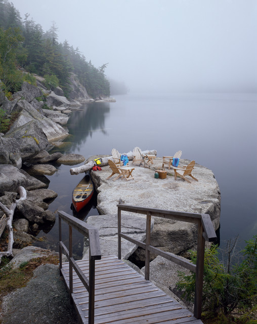 Penny Candy Cove Camp rustic-landscape