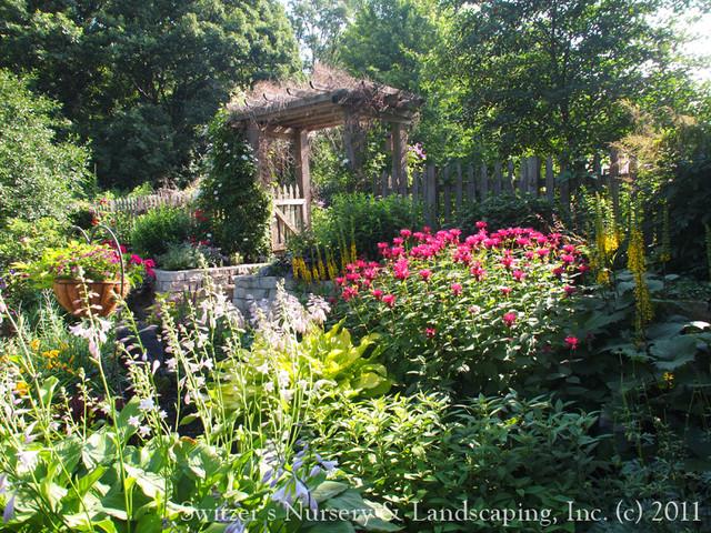 Perennial Paradise ~ a Backyard Garden traditional-landscape