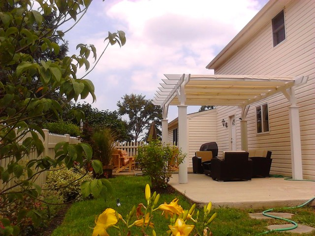 Pergola and Outdoor Living Wyndmoor PA traditional-landscape