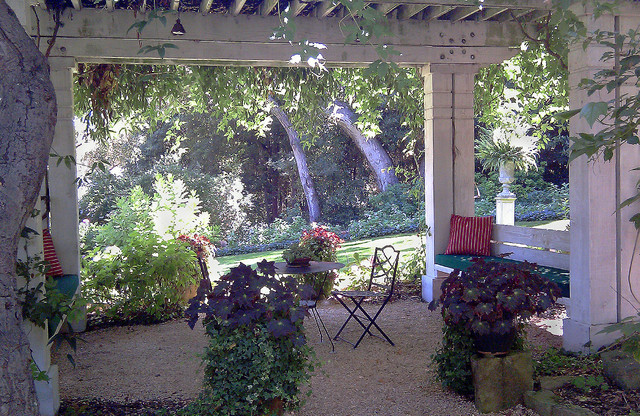 Pergola Garden Room traditional landscape