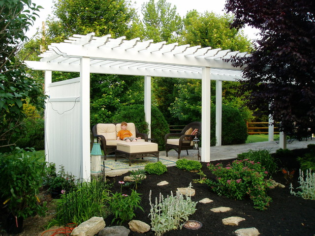 Pergola Gazebo Traditional Landscape Baltimore By