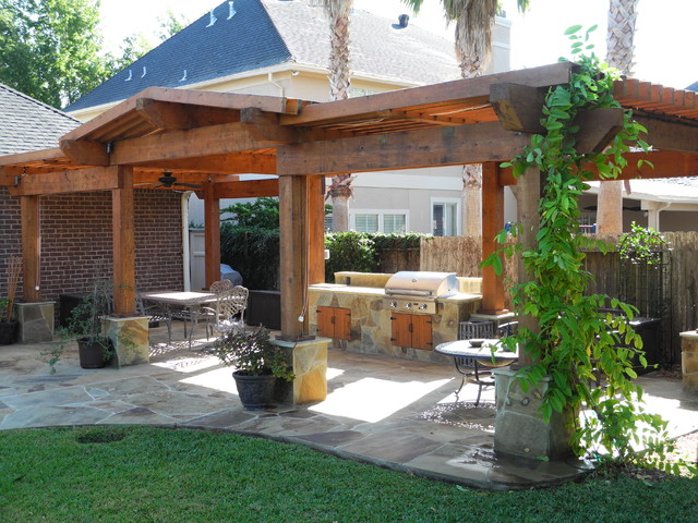 Pergolas And Patio Covers Contemporary Landscape