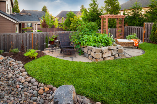 Romantic garden designs lifescape colorado for Garden design ideas houzz