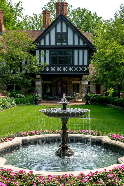Philadelphia residence landscape by hess landscape for Hess landscape architects