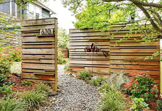 Phinney Energy Remodel - Contemporary - Landscape - Seattle - by ...