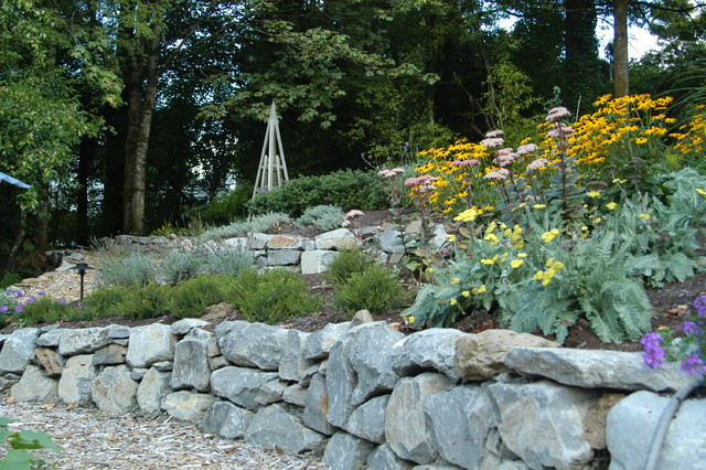 Water Retaining Landscape : Photobook patios water features walls gates